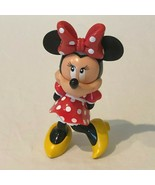 """Disney Minnie Mouse 5"""" Figure Rattle Toy 2004 Playmates Toys Plastic Red... - $9.99"""