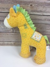 Baby Gund Hopscotch Medium 59071 Yellow Corduroy Horse Pony Plush Stuffe... - $3.47