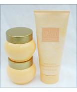 Avon Peach soft musk 200 ml body lotion & 2 jars skin softener full - $9.85