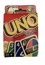 UNO Original Playing Card Game-Get Wild 4 Uno Edition 2 packs NIB - $11.86