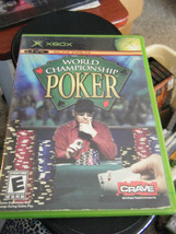 World Championship Poker (Xbox, 2004) - Complete!! - $4.90