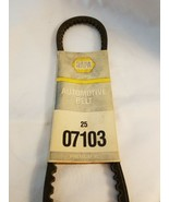 NAPA 25-07103 Belt NSFP 2507103 - New - $14.80