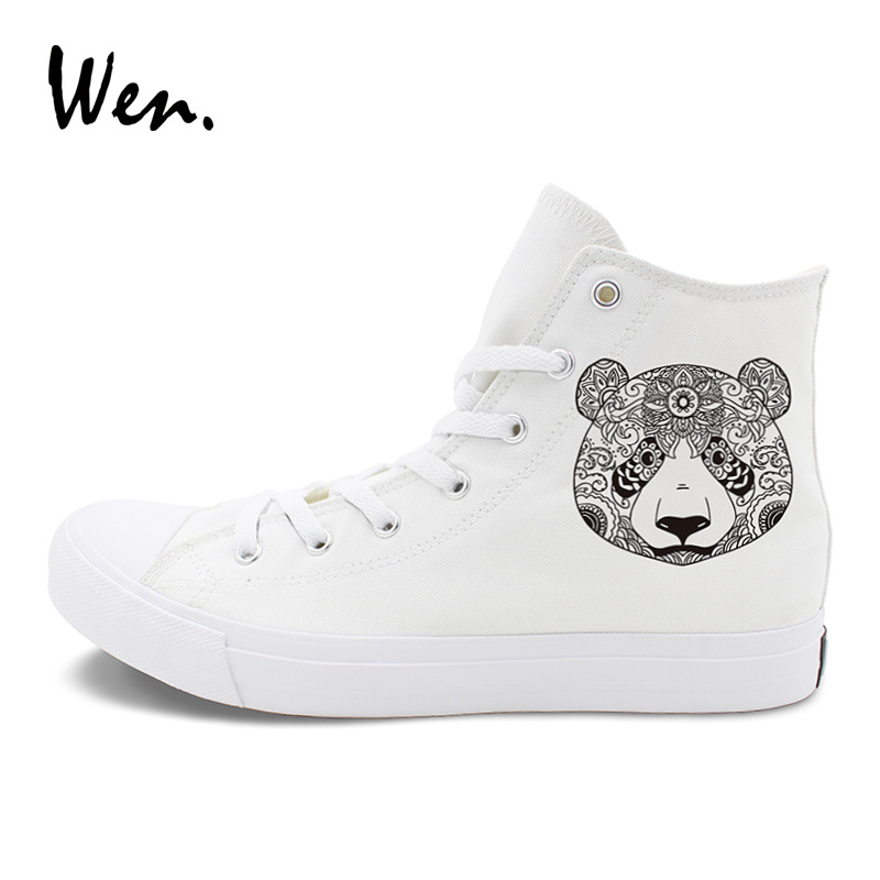 Wen Shoes Original Design Totem Panda Print and 50 similar items 018f4fb72a0c