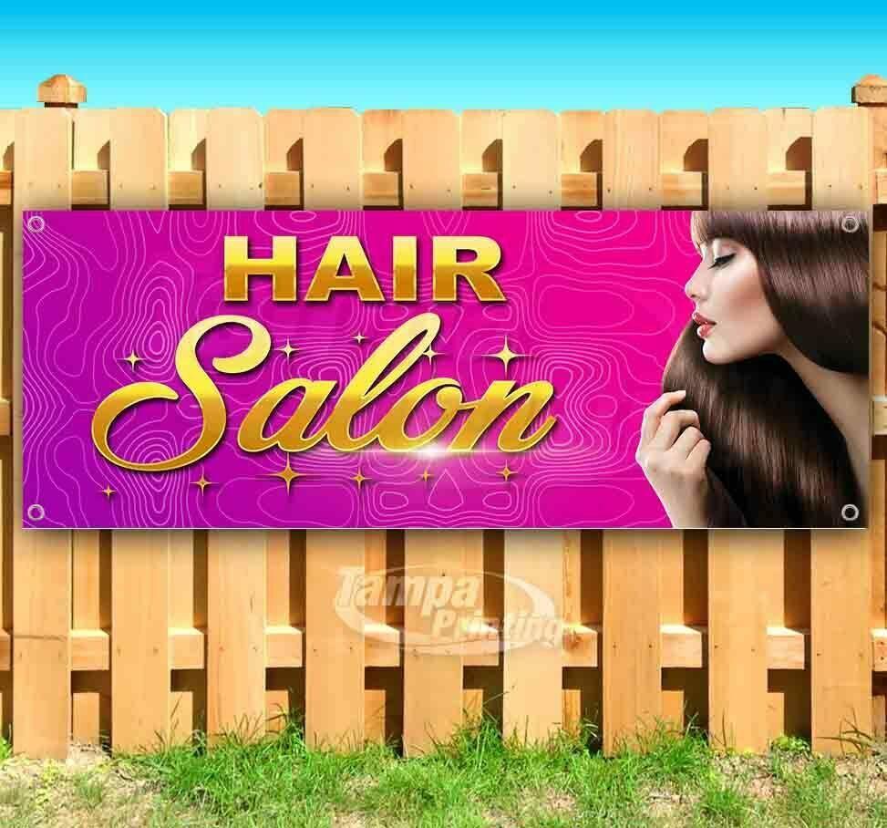 NOW HIRING HAIR STYLIST Advertising Vinyl Banner Flag Sign Many Sizes USA