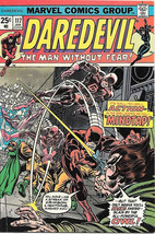 Daredevil Comic Book #117 Marvel Comics 1975 NEAR MINT - $32.81