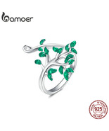 bamoer Tree of Life Bracelet and Ring for Women Jewelry Sets Authentic 9... - $38.13