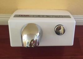 New NOVA 0110 Push Button Hand Dryer American Hotel Register Canada Made image 1