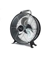 Vie Air 12 Inch High Velocity Dual Speed Retro Metal Drum Fan - $53.36