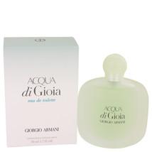 Acqua Di Gioia by Giorgio Armani Eau De Toilette Spray 1.7 oz for Women ... - $61.21