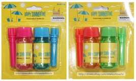 MOMENTUM BRANDS 2.4 oz TOUCHABLE BUBBLES Happy Summertime STRAW New *YOU... - $2.96