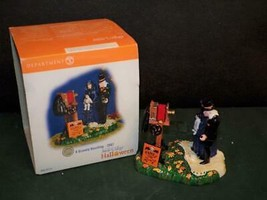Dept 56 Halloween A Gravely Haunting 2007 LIMITED EDITION  MIB - $14.85