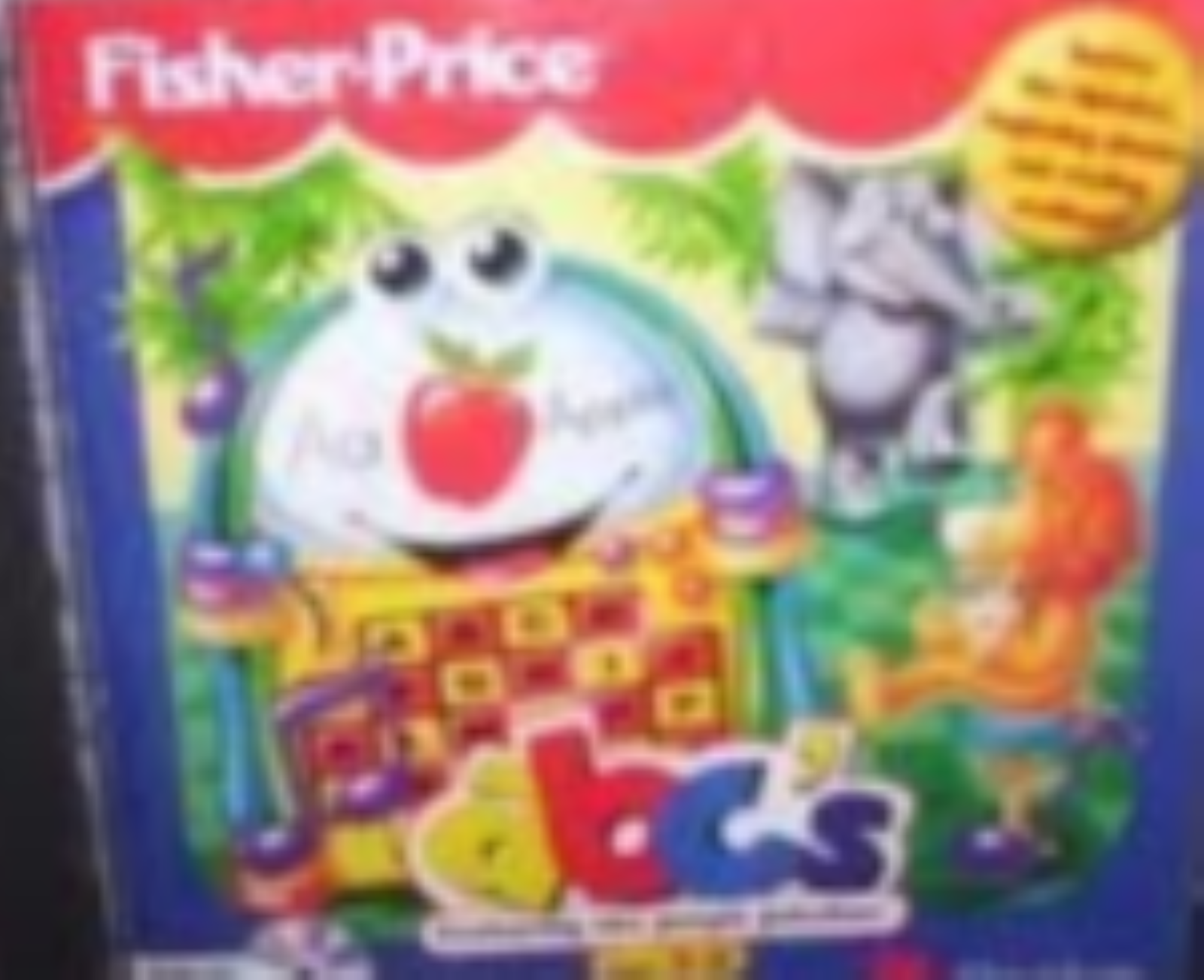 Fisher-Price ABC's Version 1.0 Cd Rom