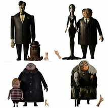 The Addams Family 5 Points Action Figures The Complete Set of 8 Figures ... - $99.95