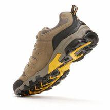 NIB Men's FILA Travail Trail Running Shoes Brown Gold image 4