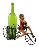 WineyBitches.co 11X9 BOTTLE HOLDER, LADY IN RED - $34.99