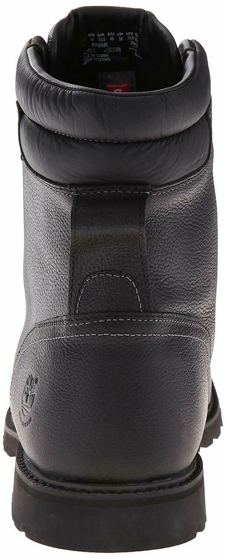"Men's Timberland Chestnut Ridge 6"" Insulated Boots, TB09708B 001 Black Mul Sizes image 4"