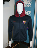 FC Barcelona Men Size Large Medium FCB Messi Mes Que Un Club Long Sleeve... - $41.47