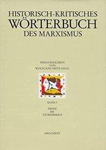 Historisch-kritisches Wörterbuch des Marxismus.: Ebene bis Extremismus: Ebene bi image 2