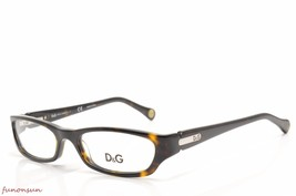 Dolce & Gabbana Women's Eyeglasses D&G 1209 502 Havana Plastic Rectangle... - $86.33