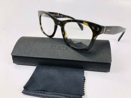 ✳New Authentic Prada VPR 11S 2AU-1O1 Dark Havana Eyeglasses 51mm with Case - $112.86