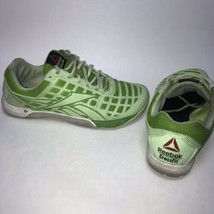 Women's Reebok Crossfit Nano CF74 Shoes Size US 10 Green Duracage - $33.62