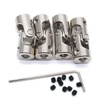 Sydien 4mm to 4mm Bore Rotatable Universal Joint Coupling RC Robot Boat Car Shaf image 4