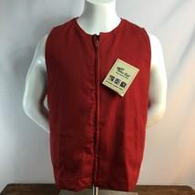 Westex Saf-Tech Flame Resistant FR HRC2 Red Reflective Indura Cotton Ves... - $16.30