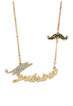 BETSEY JOHNSON MYSTERIOUS NECKLACE NWT - $23.17