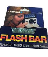 SYLVANIA BLUE DOT FLASHBAR -10 Flashes in a box-For use w/ flash bar cam... - $12.82