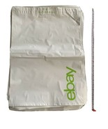 """50 14"""" X 18"""" WHITE 2.5 MIL POLY MAILERS ENVELOPES BAGS 14""""X18"""" - $20.90"""