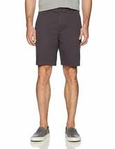 """Essentials Men's Classic-Fit 9"""" Short, Gray, 38 Cotton Slant Pockets NEW  - $18.69"""