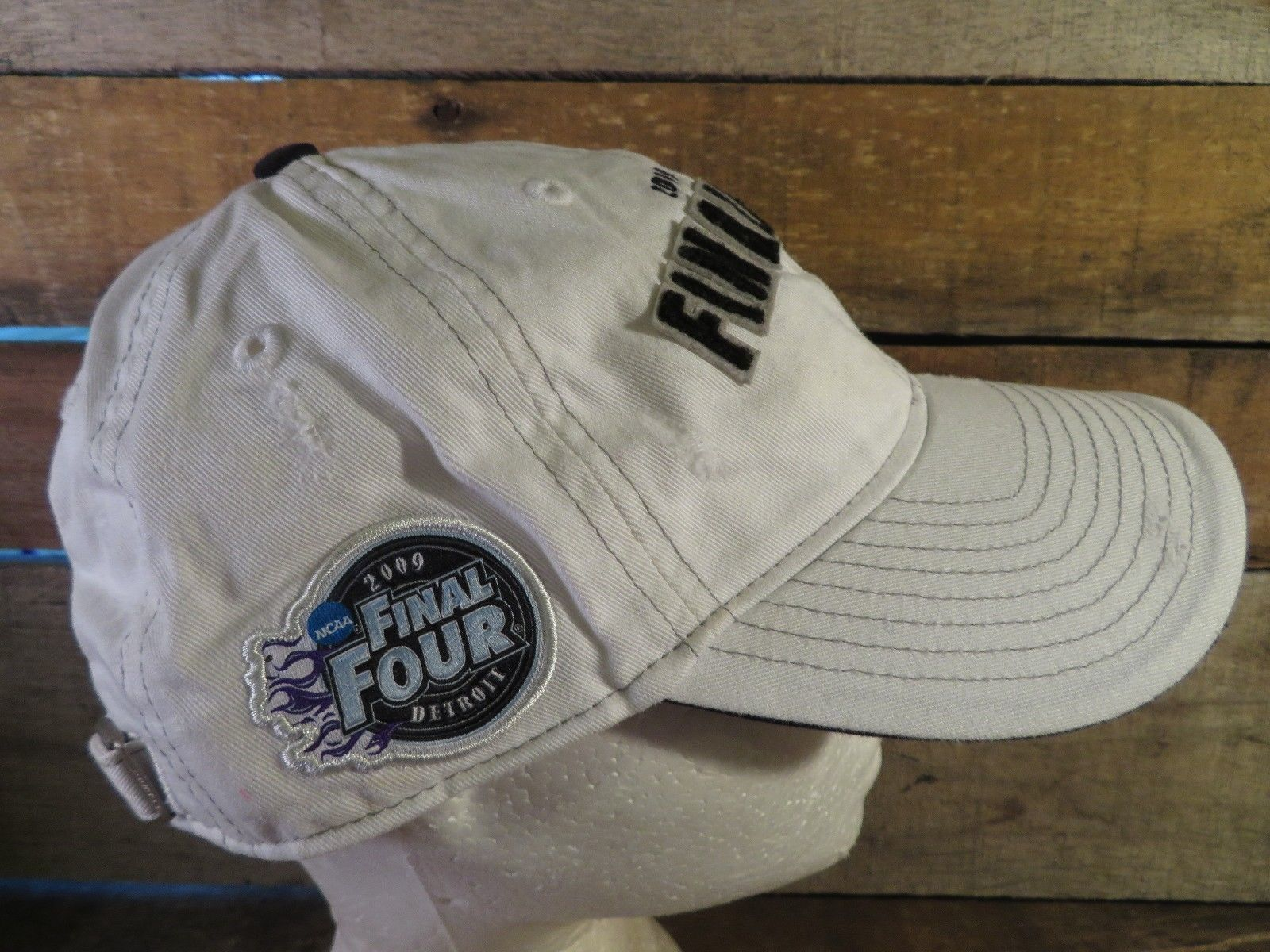 FINAL FOUR 2009 NCAA Detroit Adidas Adjustable Adult Cap Hat