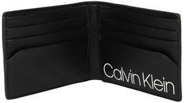 Calvin Klein CK Men's Genuine Leather Slimfold Embossed Logo Wallet 79814 image 13