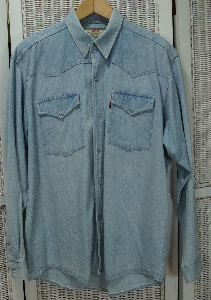 288c303b0d LEVI S Vintage Pearl Snap Shirt Western and 50 similar items. S l1600