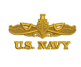 Us Navy Surface Warfare Specialist Emblem Embroidered Polo Shirt - $29.95+
