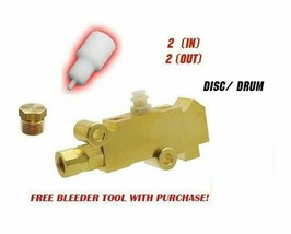 Ford Bronco Proportioning Valve Disc/Drum 4x4 1976-1986 Ford F150 F250 F350 image 2