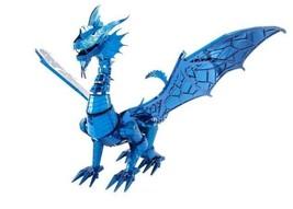 Blue Dragon ICONX Metal Earth 3D Metal Model Kit ICX114 Fascinations Col... - $26.95