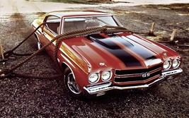 1970 Chevrolet Chevelle SS roped 24X36 inch poster, sports car, muscle car - $18.99