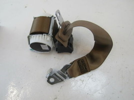 Mercedes W221 S550 S600 seat belt, center rear, brown 2218602185 - $37.39