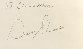 Grant Shaud Autographed Hand Signed 3x5 Index Card Murphy Brown w/COA - $19.99