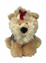 """Aurora Scottish Terrier Dog Scottie 10"""" Plush Beige & Gray - $20.78"""