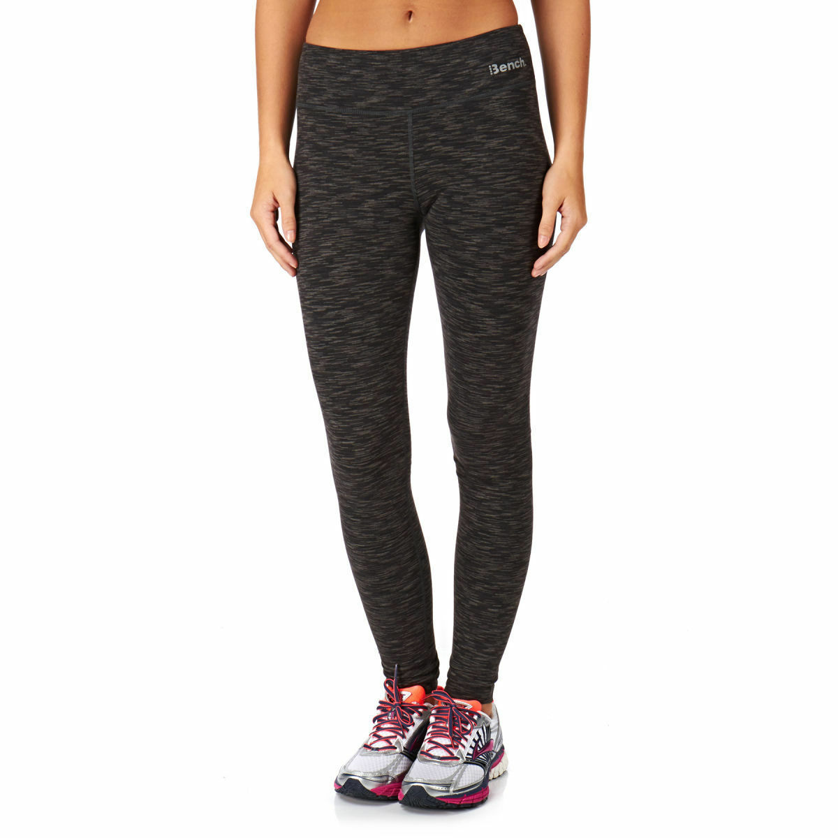 Bench Femmes Noir Geai Bruyère Marne Baddah Leggings Fitness Yoga Pantalon Nwt