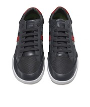 Hugo Boss Men's Premium Sport Profile Sneaker Shoes Shuttle Tenn Tech Dark Grey image 2