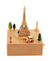 Eiffel Tower Music Box Great Decoration Gift for Children's Birthday Wedding - $61.04