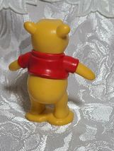 "Winnie The Pooh Bear 3"" PVC Birthday Cake Topper Action Figure Disney Store image 3"