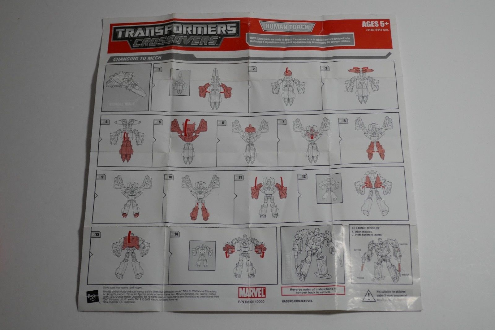 Hasbro Transformers Marvel Legends Crossovers Human Touch Action Figure image 10
