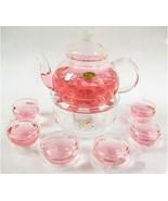 TEUMI 2016 1 Set Gaiwan Tea Set With 6 Cups 600ml Glass - $49.95
