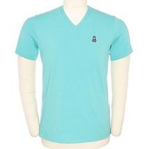 Psycho Bunny By Robert Godley Men's Premium Pima Cotton V-Neck T-Shirt Shirt image 2