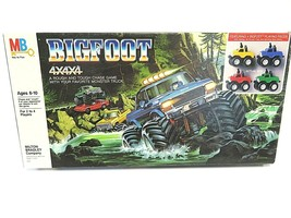 "VTG 80s/90s Milton Bradley Company ""BIGFOOT 4x4x4"" 1984 Board Game Made ... - $39.56"