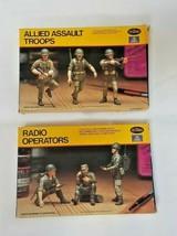 1/35 Testors / Italeri Models  WWII US Allied Assault Troops & Radio Ope... - $24.75